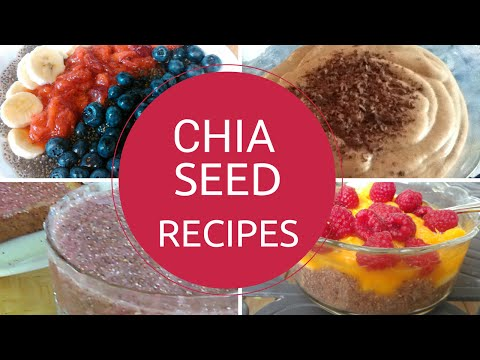 Video How To Eat Chia Seeds - Easy Chia Seed Recipes