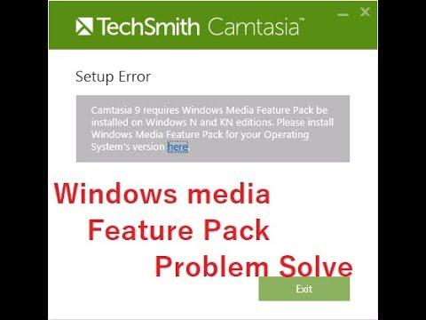 Fix - kies you need to install windows media feature pack - смотреть