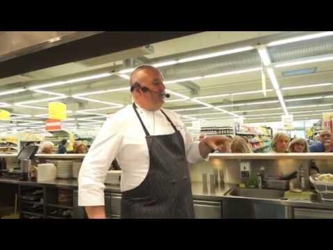 Chef in cattedra al Tigros: Massimiliano Celeste