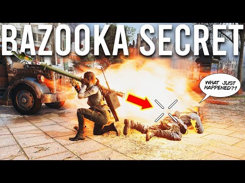 戰地風雲5巴祖卡火箭筒的秘密