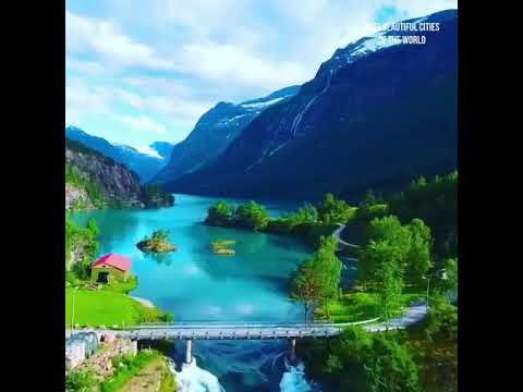 hermosos paisajes de Noruega