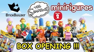Lego The SIMPSONS Minifigures SERIES 2 - Box Opening !!!