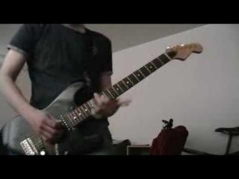 Weezer - Burndt Jamb guitar