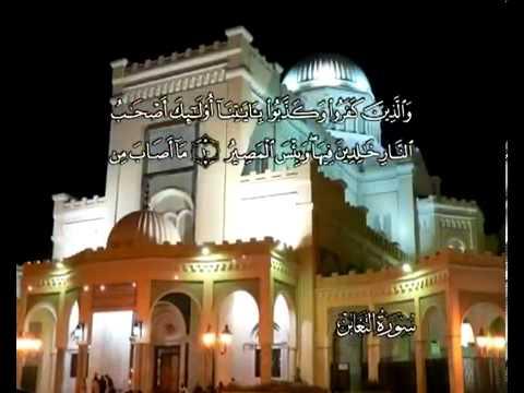 Sura Wechselseitige Ab- und Zunahme <br>(At-Taghábun) - Scheich / Mohamad Ayub -