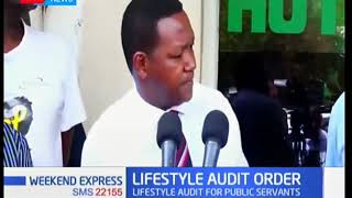 LIFESTYLE AUDIT ORDER: Why all politicians will fail lifestyle audit test