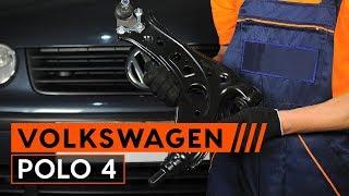 How to replacesuspension arm onVW POLO 4[TUTORIAL AUTODOC]
