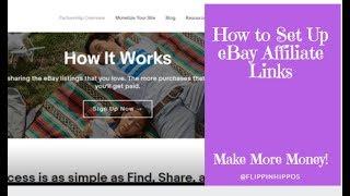 How to Set Up eBay Affiliate Links
