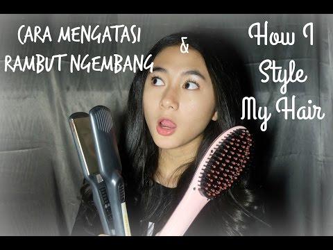 Video How I Style My Hair : Cara Mengatasi Rambut Ngembang - Zahwa Aqilah