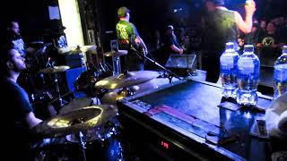 STRUNG OUT - Too Close To See - Drum Cam | Regina SK