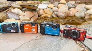 Waterproof Compact Camera Roundup 2018 (Olympus TG-5, Nikon W300, Fujifilm XP130, Panasonic TS7/FT7)   Kholo.pk