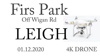 4K firs park leigh - fishing and park - Fying a DJI Phantom pro Drone