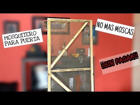 ¿COMO HACER TU PROPIO  MOSQUITERO PARA PUERTA? !! |SIN GASTAR EN CARPINTEROS!!| -TODO LO PUEDO