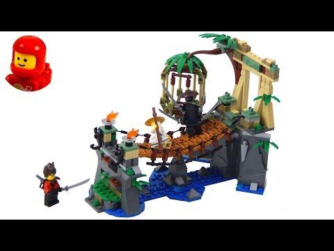 Vidéo LEGO Ninjago 70608 : Le pont de la jungle