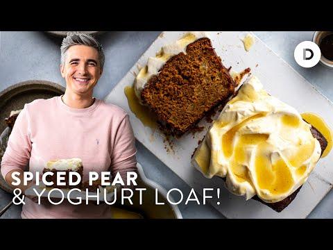 Spiced Yogurt Cake!