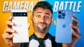 Google Pixel 6 Pro vs Apple iPhone 13 Pro CAMERA Test