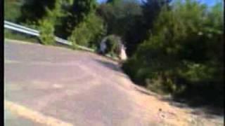 preview picture of video 'gara velocita salita walter  laccio torriglia  moto  kawasaki  zxr 400'
