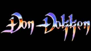 DON DOKKEN - MIRROR MIRROR - LIVE 1990