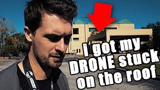 Sometimes, i get my drone stuck