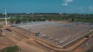 Строительство тепличного комплекса JGC Evergreen
