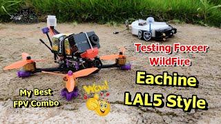 Testing Foxeer WildFire Flight Testing FPV Racing Drone