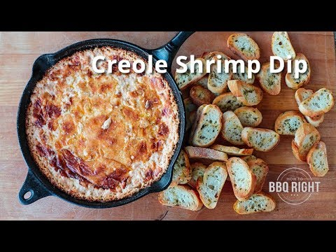Creole Shrimp Dip on the PK Grill