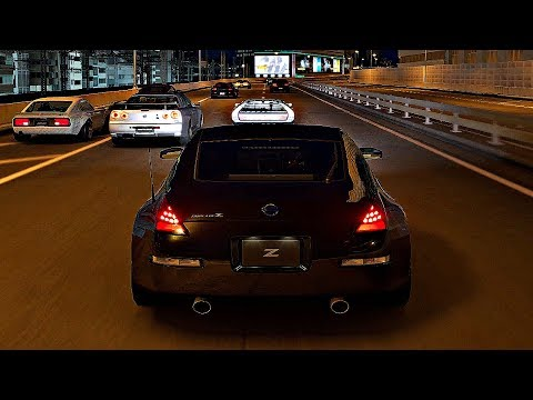 Gran Turismo Sport - Gameplay Nissan Fairlady Z Version S Z33 @ Tokyo Expressway [1080p 60fps]