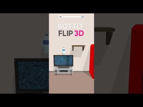 Bottle Flip 3D wideo