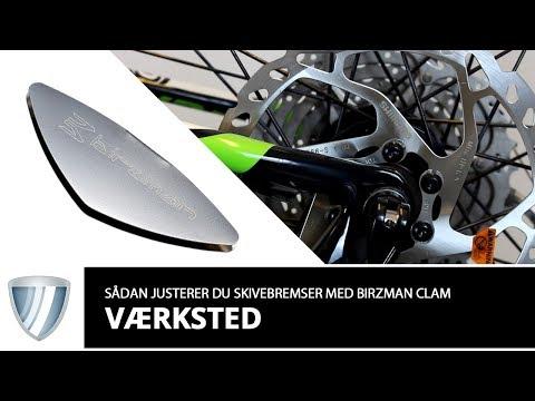 Birzman Clam måleværktøj til skivebremser video