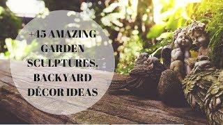 Amazing Garden Sculptures:  Backyard Decor Ideas
