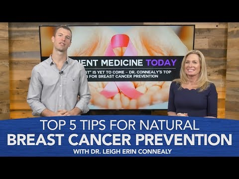 Top 5 Tips for Natural Breast Cancer Prevention with Dr. Connealy