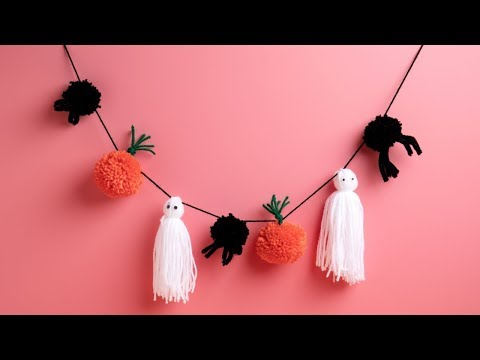 DIY Spooky Halloween Garland - Ellison Education