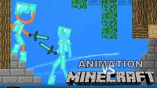 Animation VS Minecraft - JuegaGerman - dooclip.me