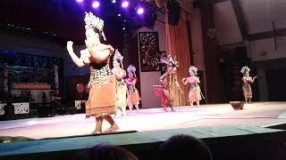 Iban Dance/Tarian Iban/Ngajat Lesung @ Kampung Budaya Sarawak