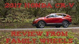 2017 Honda CR-V review from Family Wheels
