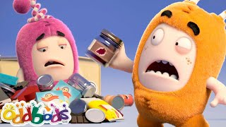 ODDBODS | Going Up & Thumbling Down | Cartoons For Kids