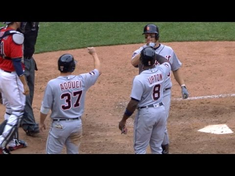 4/23/17: Powerful bats lead Tigers to blowout victory