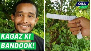DIY paper folding tricks | Learn to make paper gun | Origami
