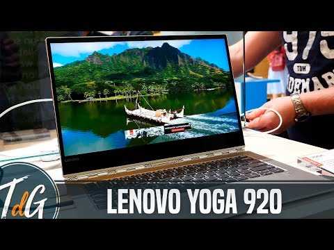 Lenovo Yoga 920, primeras impresiones #IFA17