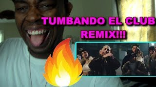 Tumbando El Club (Remix) (Official VIdeo) REACCION REACTION!!!
