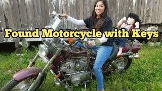 FOUND MOTORCYCLES I Bought Abandoned Storage Unit Locker Opening Mystery Boxes Storage Wars Auction