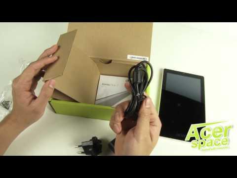 แกะกล่อง Acer Iconia One7 [B1-740]