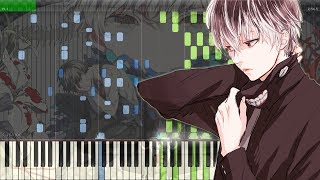 Asphyxia-TokyoGhoul:reOP 東京喰種トーキョーグール:reOPピアノFull[PianoTutorial+Midi Sheet]