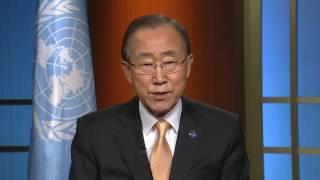 Ban Ki-moon (UN Secretary-General) on World Toilet Day 2016 (19 November)