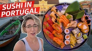 What Does Sushi Taste Like in Aveiro, Portugal? —Travel, Eat, Repeat