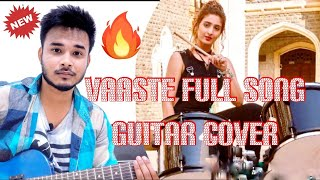 Vaaste Song: Dhvani Bhanushali | Unplugged Guitar Cover | Guitar Chords By Diganta Official