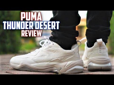 Puma THUNDER DESERT Review! Best lowkey DAD SHOE?
