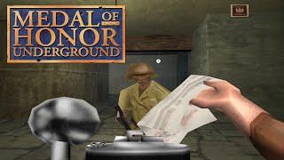 Обзор Medal of Honor Underground (Playstation 1) Вспомнить Всё №16