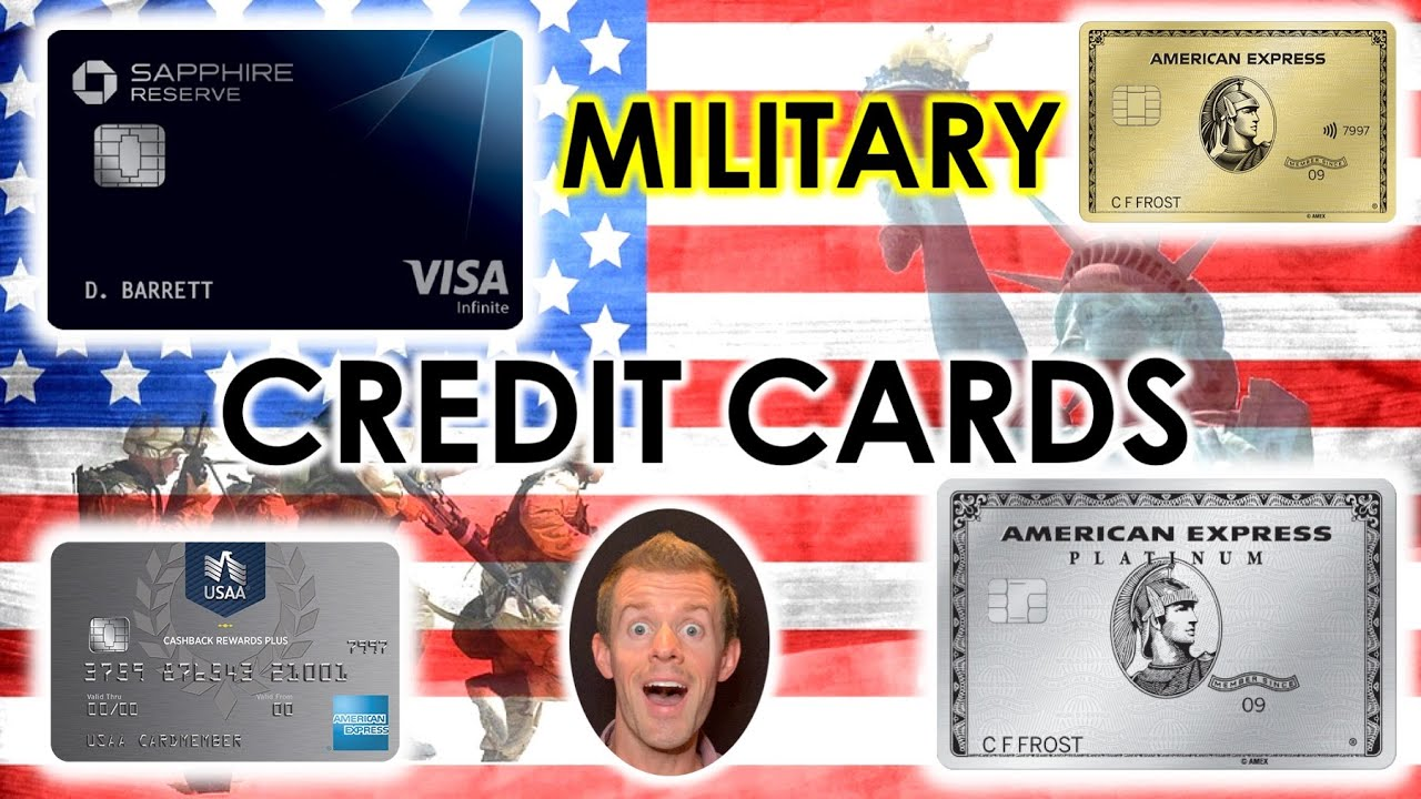 BEST MILITARY CREDIT CARDS (Best Credit Cards For Active Service Military Members)