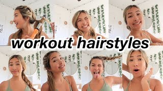7 WORKOUT HAIRSTYLES FOR SUMMER!
