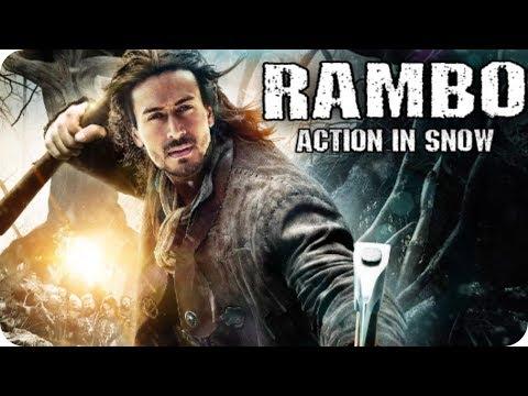 Rambo Shooting Tiger Shroff Action in Snow Upcoming Movie 2020